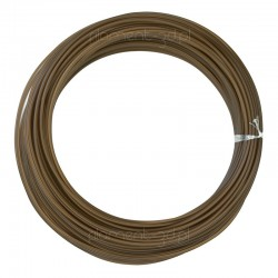 Brązowy filament PLA 1,75mm 100g