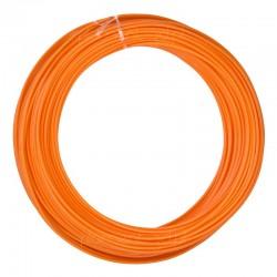 Pomarańczowy filament ABS 1,75mm 100g