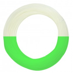 Fluorescencyjny zielony filament PET-G 1,75mm 100g