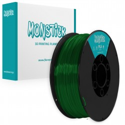 Cristal Green PLA 1,75mm Transparent