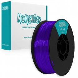 Cristal Violet PLA 1,75mm Transparent