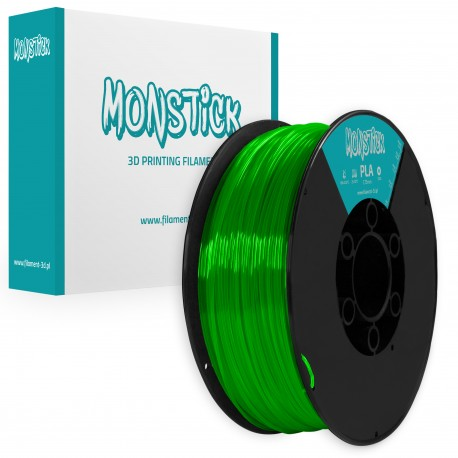 NeoFluo Green PLA 1,75mm Transparentny