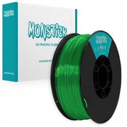 Cristal Pastel Green PLA 1,75mm Transparent