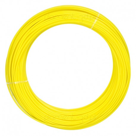 Żółty filament ABS 1,75mm 100g